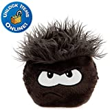 Disney Club Penguin 6 Inch Deluxe Plush Puffle Black Includes Coin with Code!
