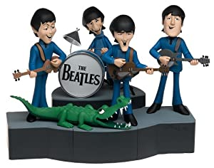 McFarlane Toys Rock 'n Roll Deluxe Action Figure Boxed Set Beatles Cartoon