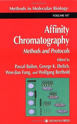 Affinity Chromatography: Methods And Protocols (Methods In Molecular Biology)