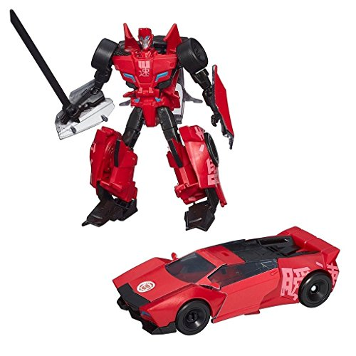 Transformers Robots in Disguise Warriors Class Sideswipe Figure by Hasbro (Disguise Can compare prices)