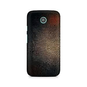 Mobicture Virtual Honey Comb Premium Printed Case For Moto G