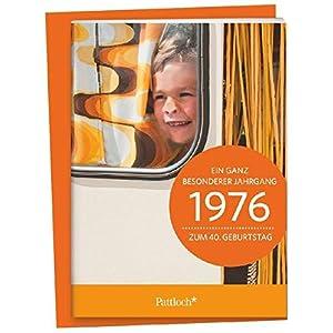 1976 - Ein ganz besonderer Jahrgang Zum 40. Geburtstag: Jahrgangs-Heftchen mit Umschlag