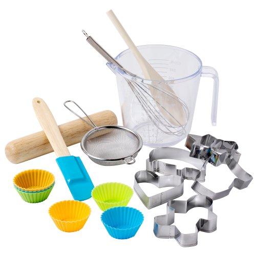 Hilly's Kitchen Children's Kids Baking /& Cake Decorating Set