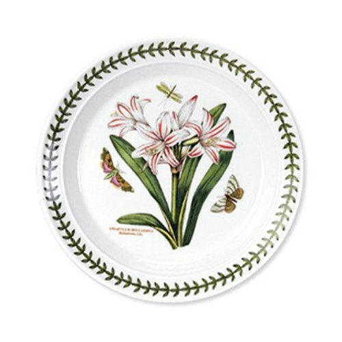 Portmeirion Botanic Garden Salad Plates 8-1/2-Inch, Set of 6