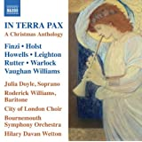 Finzi: In Terra Pax | A Christmas Anthology (Christmas Music) (City of London Choir) (Naxos)by Finzi
