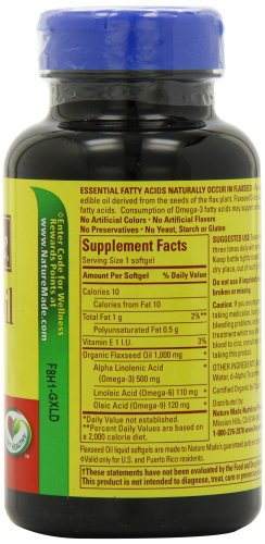 Nature made flaxseed oil 1000mg 100 softgels online for Fish oil capsules side effects