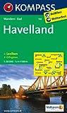Havelland: Wanderkarte mit Kurzführer und Radwegen. GPS-genau. 1:50000