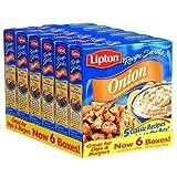 Lipton Onion Recipe Soup & Dip Mix - 6/2 oz. bxs