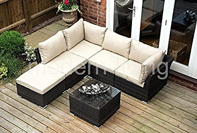 6pc Rattan Corner Sofa Set OGD015