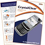 "mumbi Displayschutzfolie BlackBerry 9800 Torch Displayschutz ""CrystalClear"" unsichtbarvon ""mumbi"""