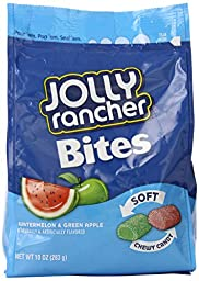 Hershey Jolly Rancher Soft Bites, 10 Ounce (Pack of 12)