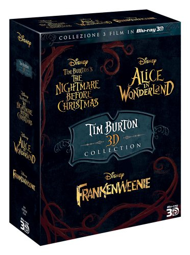 Tim Burton 3D collection (2D+3D) [Blu-ray] [IT Import]