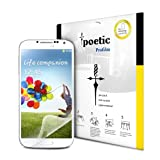 Poetic ProFilm Screen Protector Ultra Clear for Samsung Galaxy S4 (3 Pack)(3 Year Manufacturer Warranty From Poetic)