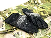 [I use a stretch material that does not interfere with the movement of the fingertip and excellent fit] OAKLEY Oakley Tactical type glove / BK M size