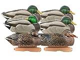 GHG Pro-Grade Pre-Texas Rigged Rester Mallard Duck Decoy Pack of 6