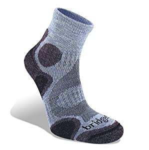 Bridgedale Trail Diva Sock - Women's,Heather Plum,Small