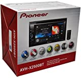 "Pioneer AVH-X2500BT 2-DIN Multimedia DVD Receiver with 6.1"" WVGA Touchscreen Display"