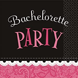 Bachelorette Party Beverage Napkins