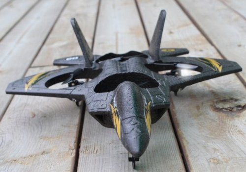 4ch 搭載で安定感抜群 自由に操作 ホバリングも可能 ジェット機型 戦闘機 ラジコン