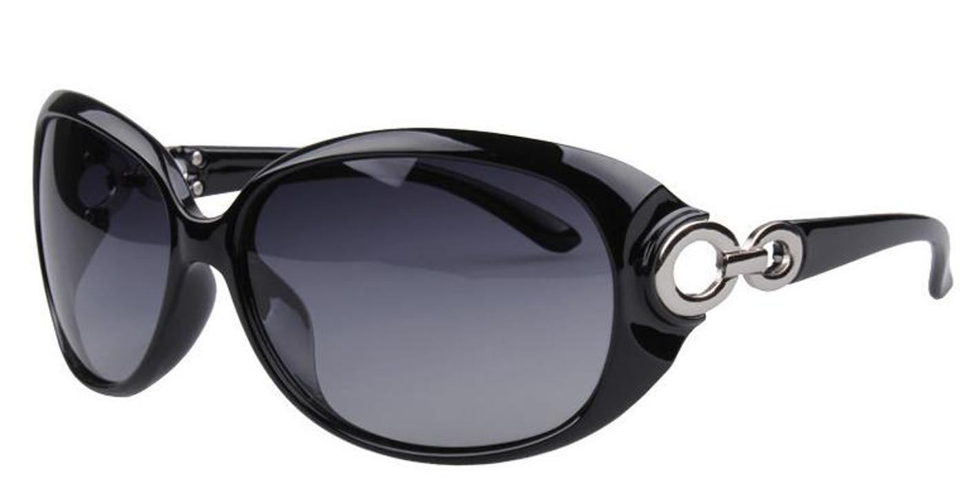 Amazon.co.jp: (ジャパナイス)JapaNice UVカット 偏光 サングラス レディース UV400 採用で 紫外線 99.9%カット 花粉 花粉症 にも有効 SB-037A (ブラック(シルバー)): 服&ファッション小物