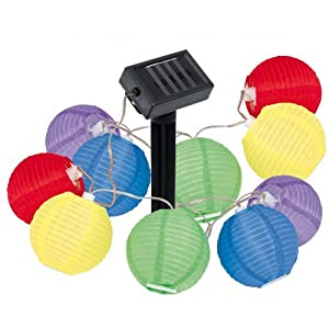 guirlande lampions guirlande de lampions solaires sans aucune pile cuisine maison. Black Bedroom Furniture Sets. Home Design Ideas