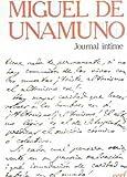 echange, troc Miguel de Unamuno - Journal intime