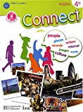 Connect Anglais 4e (1CD audio)