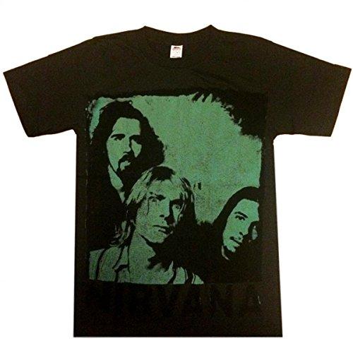 Jigg And Roll Nirvana T Shirt X-Large Black T219