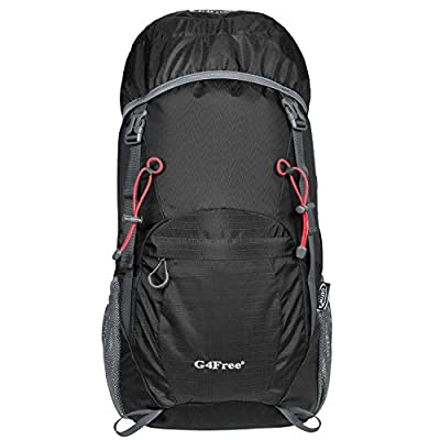 G4Free Large 40L Lightweight Water Resistant Travel Backpack/foldable & Packable Hiking Daypack Lifetime Warranty