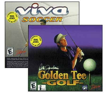 Golden Tee Golf / Viva Soccer (Jewel Case)
