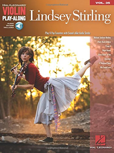Lindsey Stirling - Violin Play-Along Volume 35 Audio On Line (Sheet Music Violin compare prices)