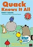 Peep & Big Wide World: Quack Knows It All [DVD] [Import]