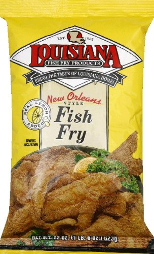 Louisiana fish fry new orleans style fish fry w lemon mix for How to make fish fry batter