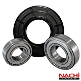 "Nachi High Quality Front Load Maytag Washer Tub Bearing and Seal Kit Fits Tub 280232 (5 year replacement warranty and full HD ""How To"" video included)"