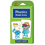 Phonics Made Easy Flash Cards by School Zone Publishing Company Staff
