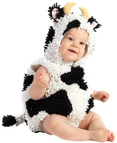 Baby Kelly the Cow Costume Size 6-12 Months image