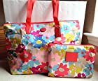 Coach Signature Nylon Weekender Tote Bag Packable Floral Multicolor NWT F77572