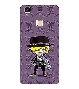 EPICCASE Hatted Villain character Mobile Back Case Cover For VIVO V3 (Designer Case)