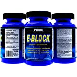 Estrogen Blocker PCT Post Cycle Therapy DIM Aromatase Inhibitor E-Block 60 Pills- Best Anti Estrogen Supplement plus Calcium-d-glucarate & Chrysin- Hormone Balance Acne Support for Men & Women