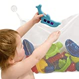 1-Rated-BabyTodder-Bath-Tub-Toys-Organizer-Large-StorageBag-for-Toys-Even-as-a-Shower-Caddy-2-Extra-Strong-Suction-Cups-Mold-Free-Playtime