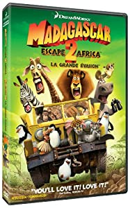 Madagascar: Escape 2 Africa (Widescreen) (Bilingual)
