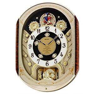 Amazon Com Seiko Melodies In Motion Wall Clock 2007