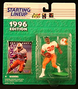 ERRICT RHETT TAMPA BAY BUCCANEERS 1996 NFL Starting Lineup Action Figure &... by Starting Line Up