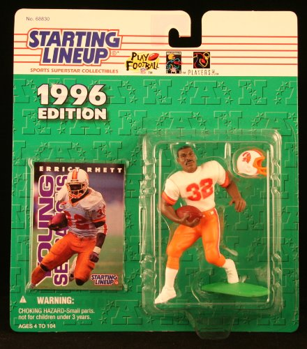 ERRICT RHETT / TAMPA BAY BUCCANEERS 1996 NFL Starting Lineup Action Figure & Exclusive NFL Collector Trading Card - 1