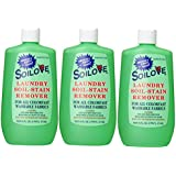 Soilove Laundry Soil-stain Remover 16 Oz(3 Pack Special)