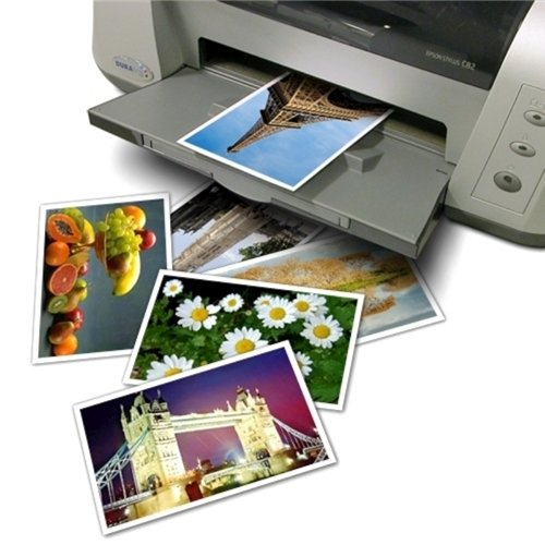 eForCity Glossy Photo Paper 4x6 Compatible with Inkjet Printers - Epson, HP, Canon, Lexmark (20 Sheets)