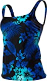 TYR SPORT Women's Hawaiian Nights Aqua Tankini (Blue, Size 6)