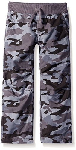 Crazy 8 Little Boys' Multi Camo Lined Pull-On Pant, Gray, 7 (Boys Camo Pants compare prices)