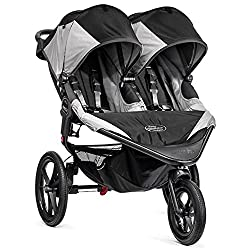 Baby Jogger Summit X3 Double Stroller Black/Gray