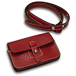 Ferrari buisiness card holder red